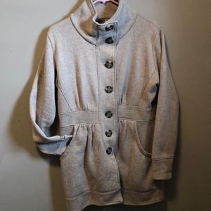Fleece Duster Coat by Avalanche size L